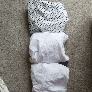 3 Fitted Crib Sheets-never used!